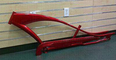 26 stretch beach cruiser bicycle puma frame