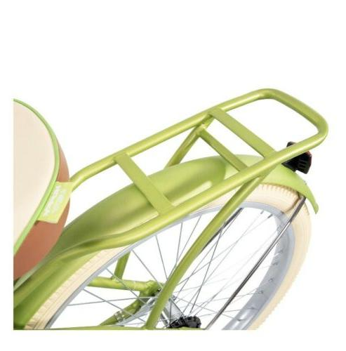 Huffy Lusso Beach Cruiser with Fit Green