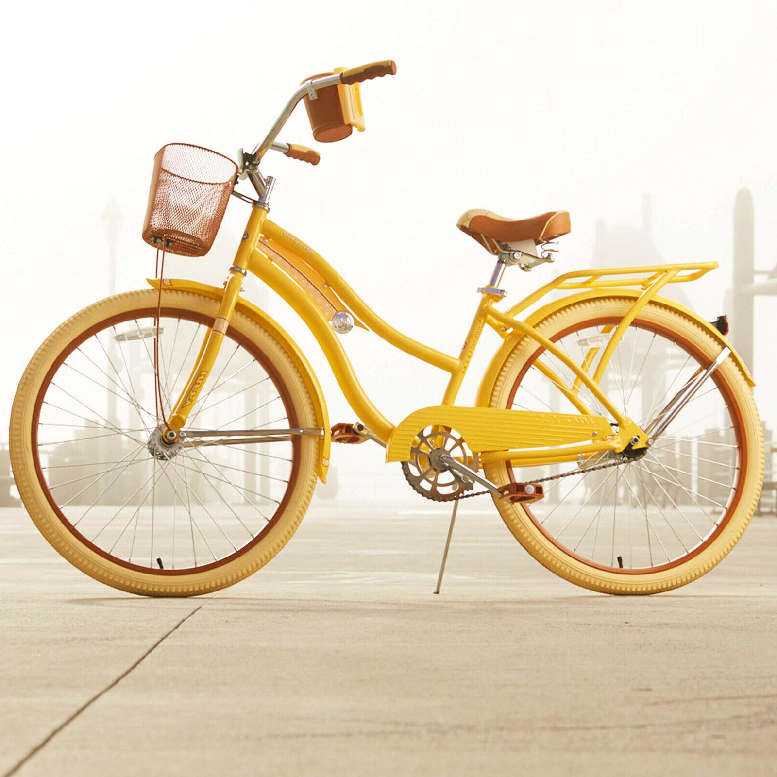 Huffy Women's Lusso with Perfect Fit Yellow