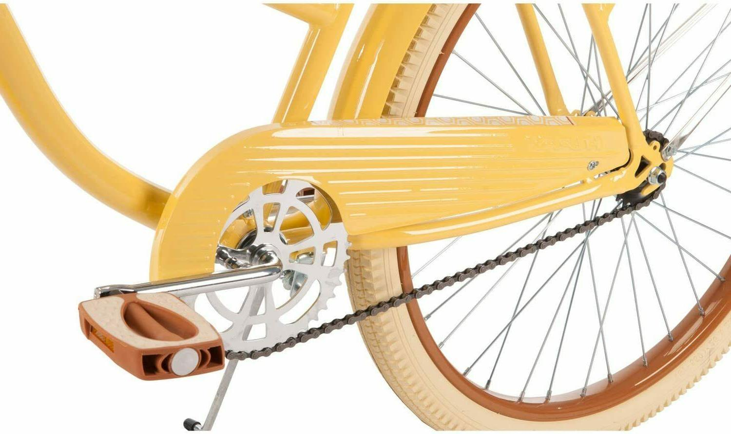Huffy Women's Lusso with Fit Yellow