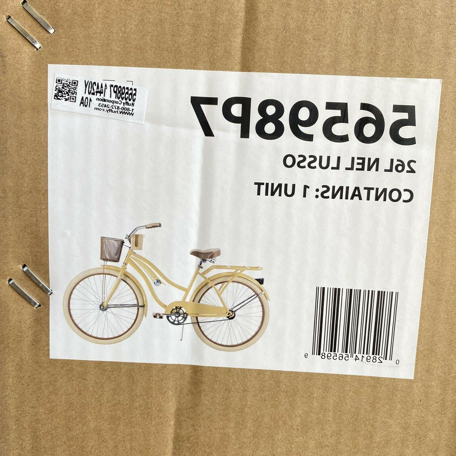Huffy Women's Lusso with Perfect Yellow