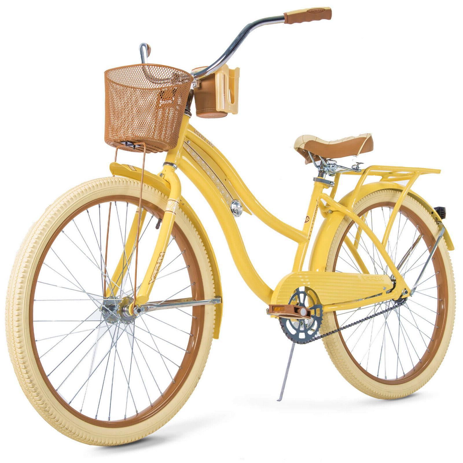 26 womens nel lusso beach cruiser bike