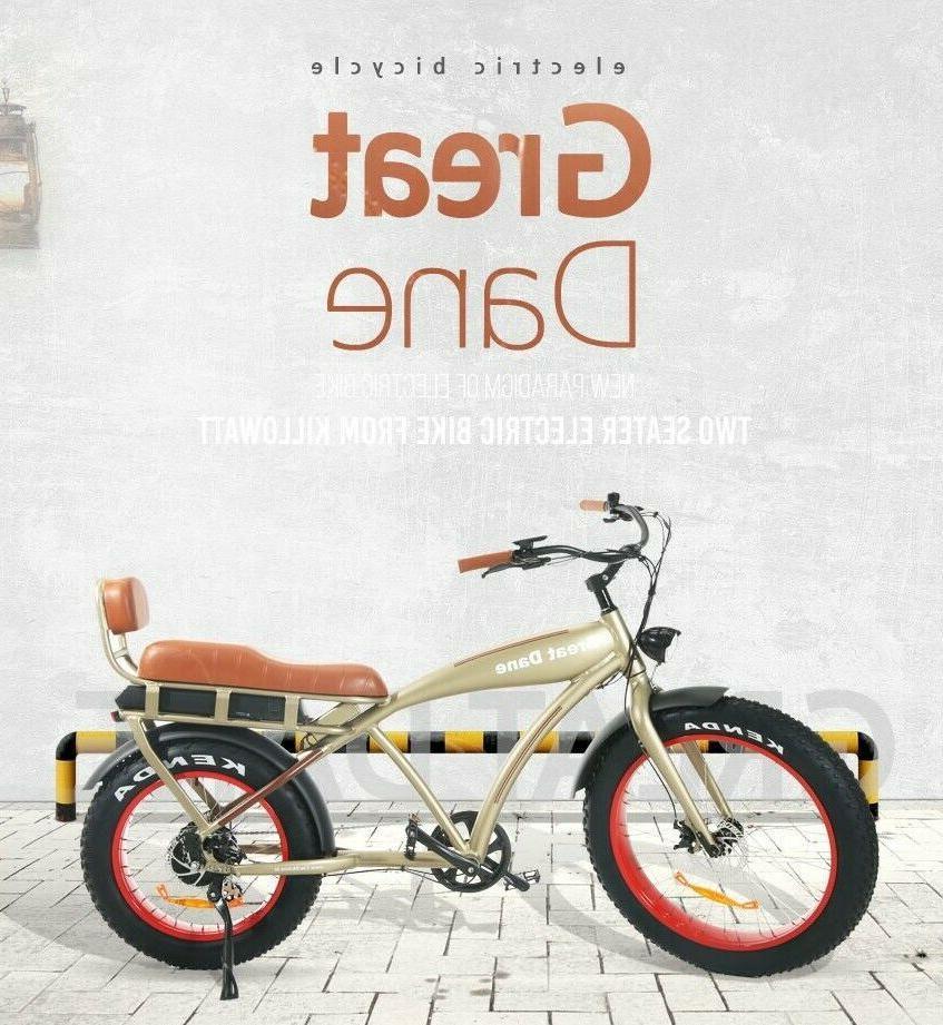 36v 25mph tric bike beach cruiser cafe