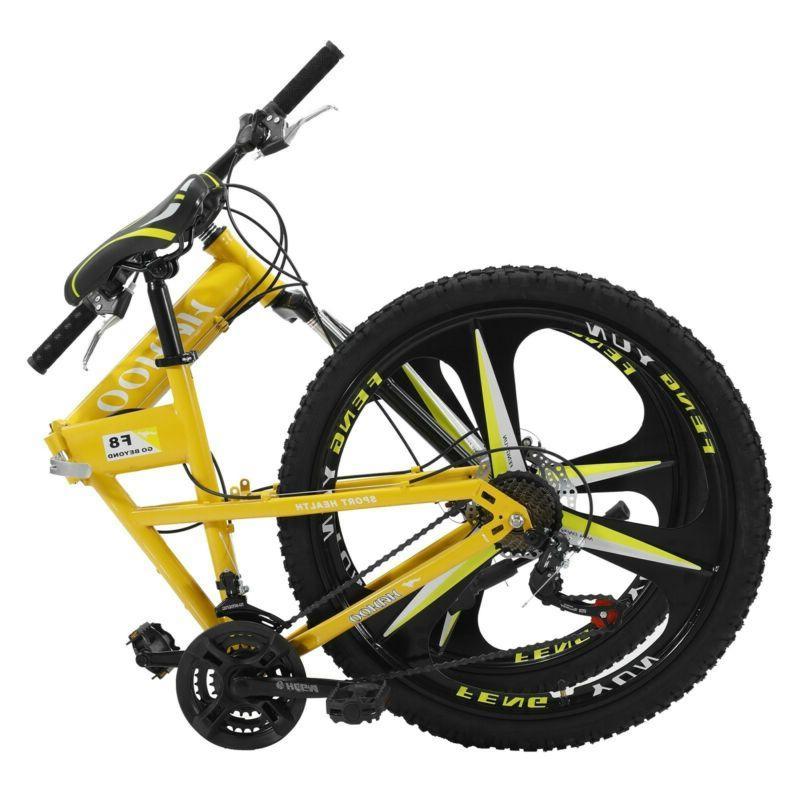 Cruiser Steel 21 Yellow