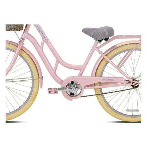 BCA Womens Beach Cruiser - Pink Aluminum Frame -