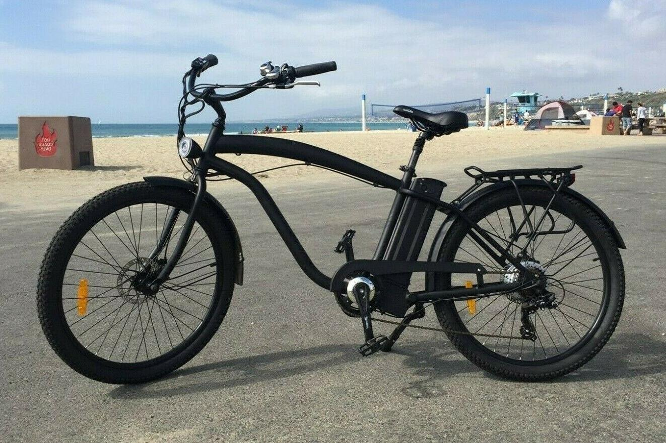 beach cruiser electric bike 500 watt 48