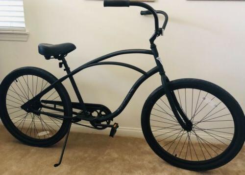 "Electra Bicycle 26"" Cruiser Black New"