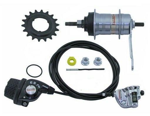 bicycle hub kit inter 3spd coaster brake