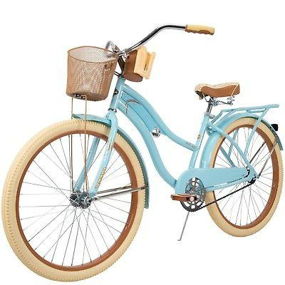 cruiser bike w basket 26 nel lusso