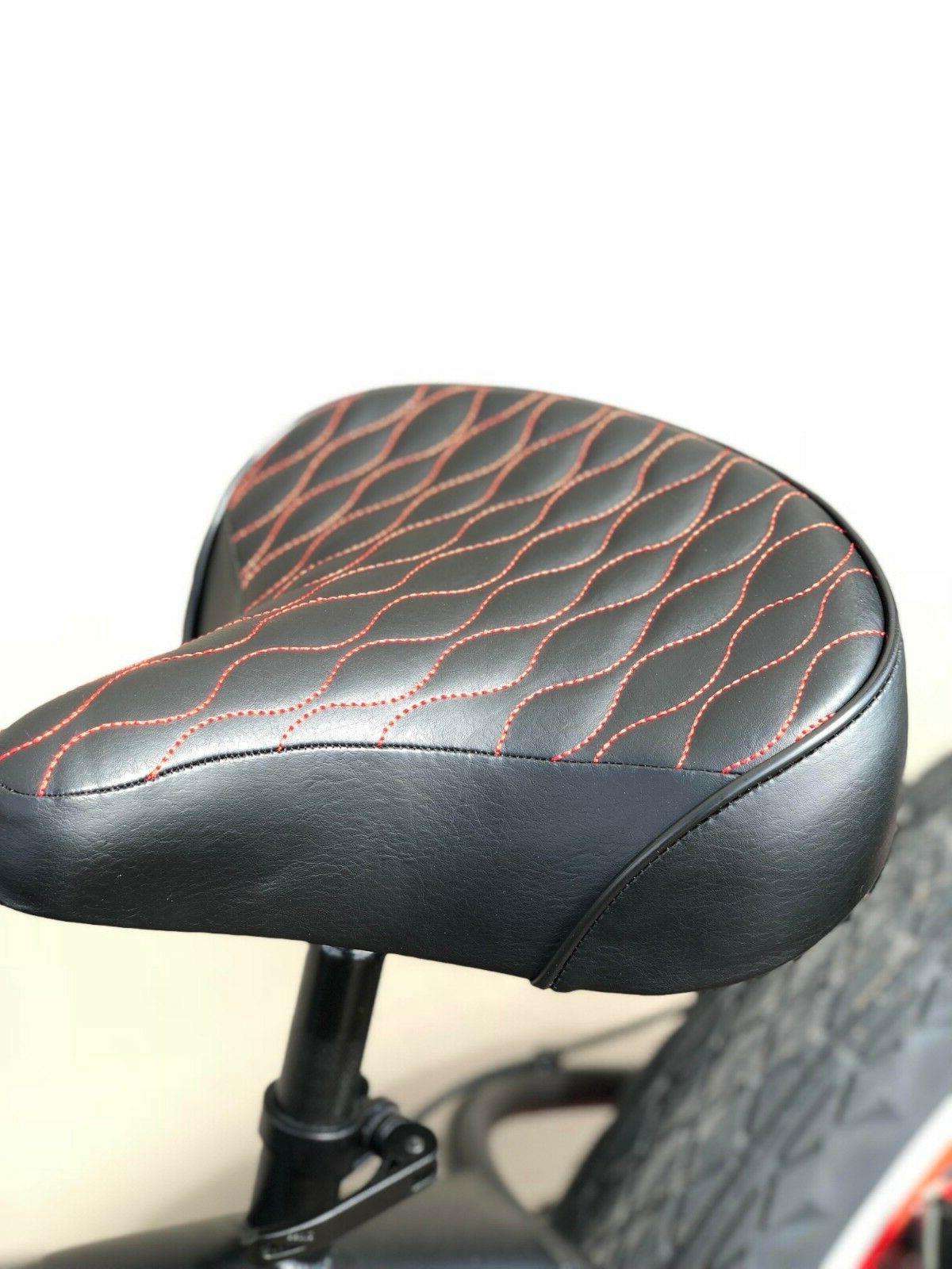 Custom Beach Bicycle Seat-