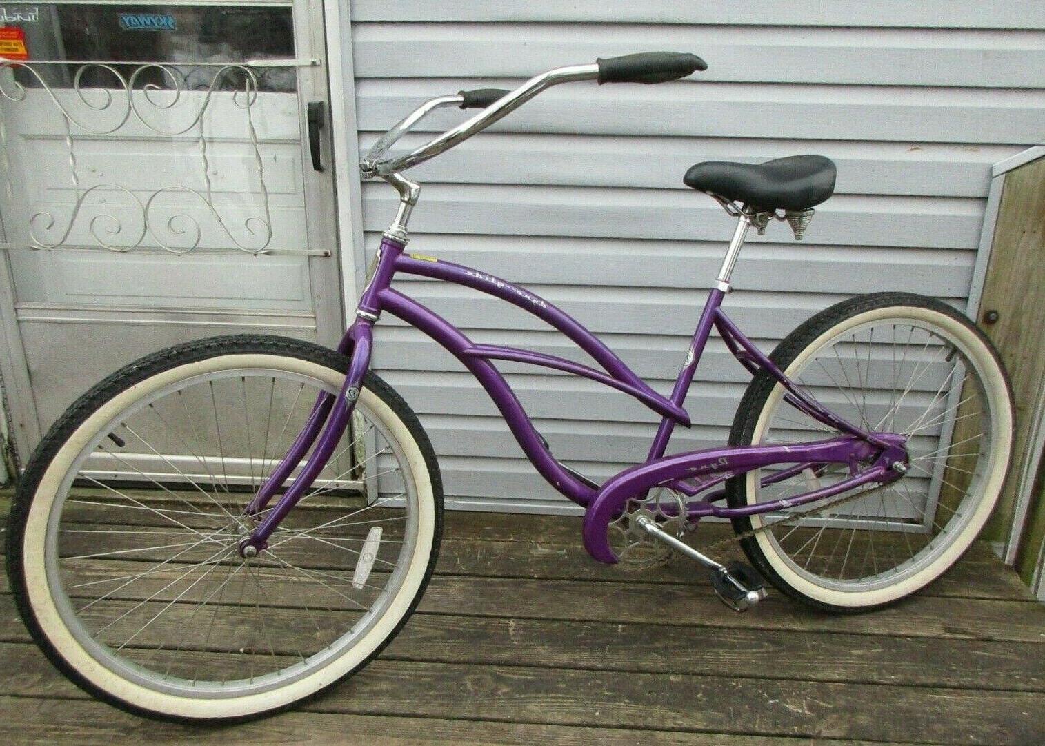 glide beach cruiser bicycle board walk bike