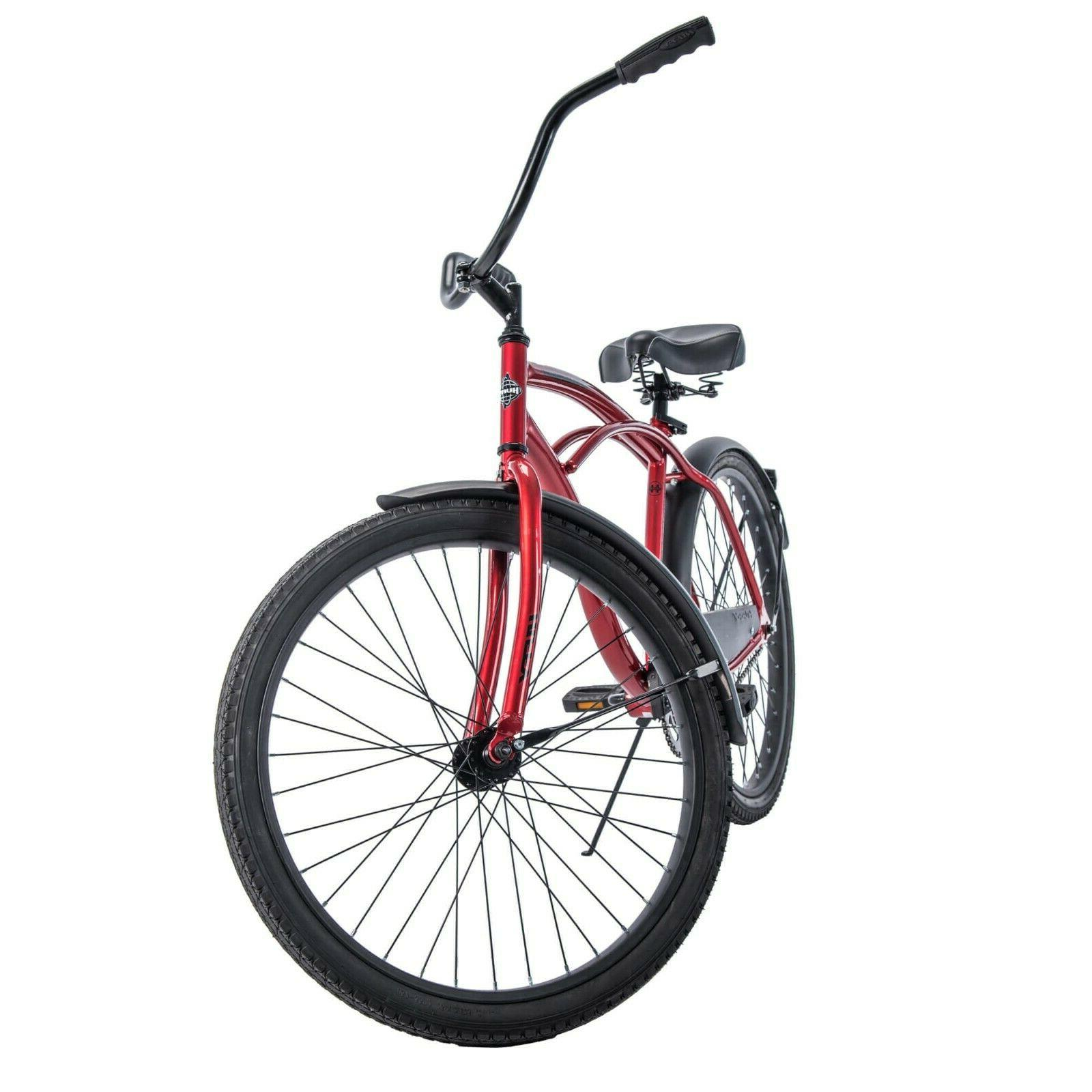 *IN HAND HUFFY BEACH CRUISER BIKE RED