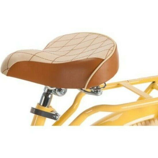 Ladies Beach Cruiser With Basket And Rack