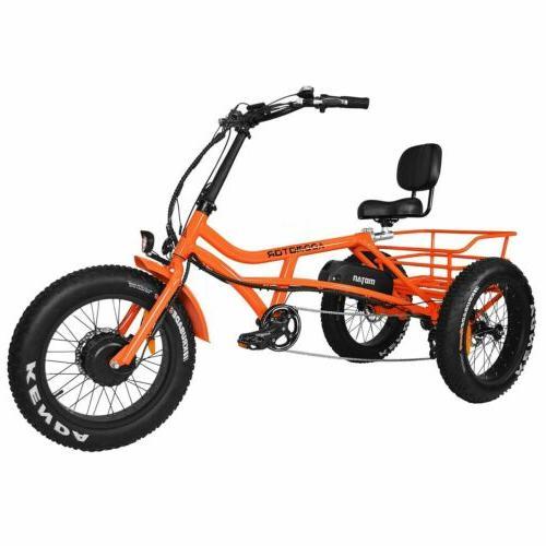 Addmotor Electric Trike 750W Cruiser Semi-Recumbent Bike
