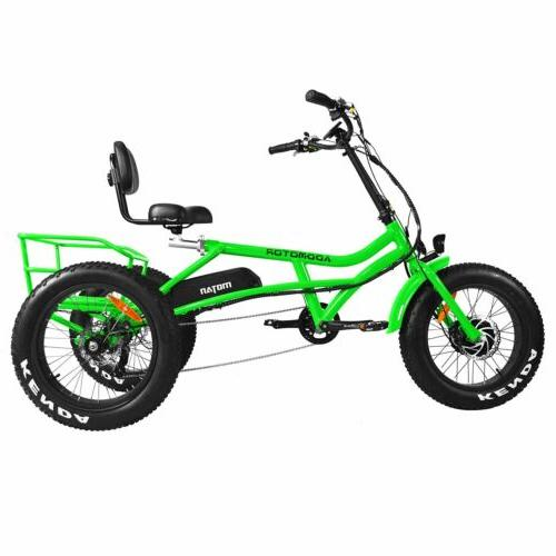 Addmotor M-360 Trike 750W Beach Cruiser 3-Wheel Semi-Recumbent Bike