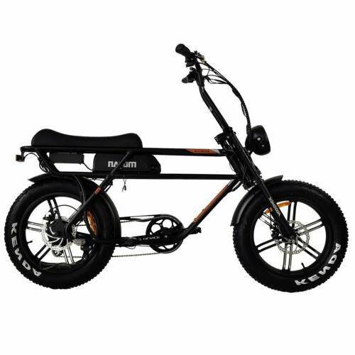 "Addmotor MOTAN M-70 Bicycle 750W 20"" Tire Cruiser E-BIKE"