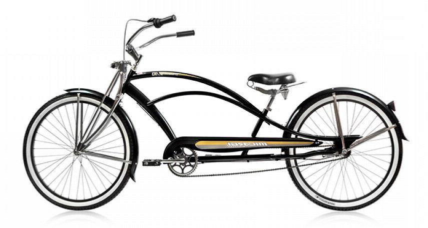 mustang gts 26 stretch beach cruiser bike