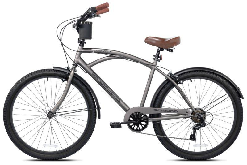 "NEW 26"" Kent Bayside 7 Speed Bicycle Shimano Steel Rod"