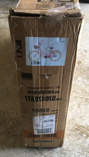 """SHIPS Kent BCA 26"""" Charleston Beach Comfort Bike NEW"""
