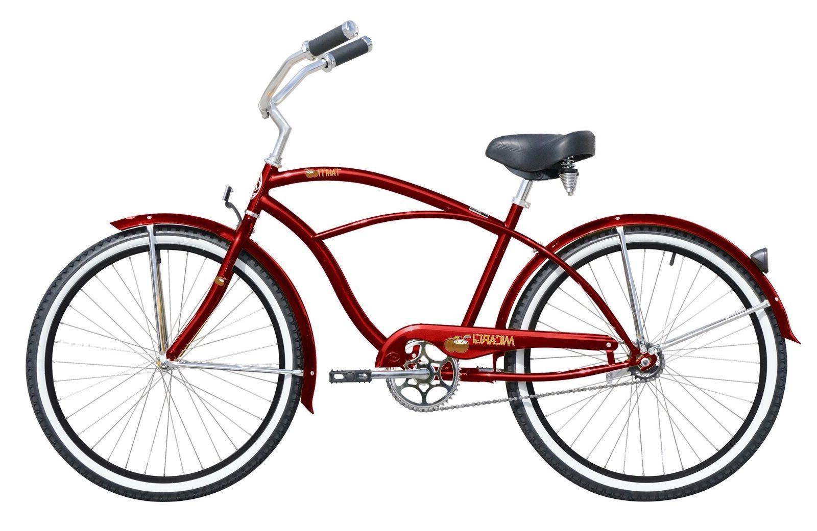 "NEW Beach Cruiser Micargi Tahitti One Speed Bike Bicycle 26"""