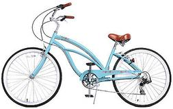 Fito Marina Alloy 7-speed - Sky blue, Aluminum Light Weight