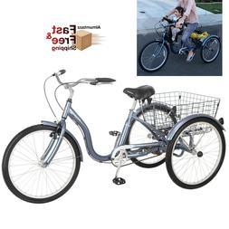 Meridian 24 Adult Trike, Slate Blue
