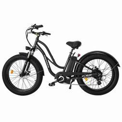 Electric Bicycle MaxFoot MF-17 500W Step-thru Fat  Beach Cru
