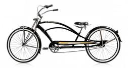"Micargi MUSTANG-GTS / NX3 26"" Stretch Beach Cruiser Bike Spo"