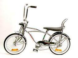 "NEW  20"" Lowrider Beach Cruiser Complete W/ 68 spoke Bike Bi"