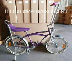 "20"" Lowrider Beach Cruiser Complete W/ 68 spoke Bike Bicycle"