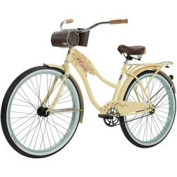 Huffy Panama Jack 26-inch Beach Cruiser Bike for Women - Yel