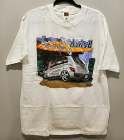 PT Cruiser BEACH CRUISER Big Graphic White T Shirt Men's Siz