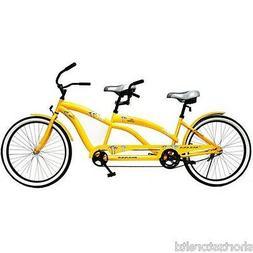 "Tandem Comfort Hybrid Cruiser Bike 26"" Kulana Lua Coaster Br"