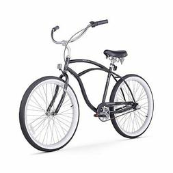 Firmstrong Urban Man 3-Speed Beach Cruiser Bicycle, 26-Inch,