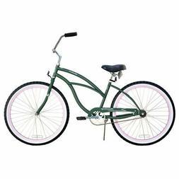 "Firmstrong Urban Limited Lady 26"" Beach Cruiser Bike Green w"