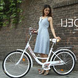 Women's 26 inch Beach Cruiser Bike City Retro Classic Bicycl